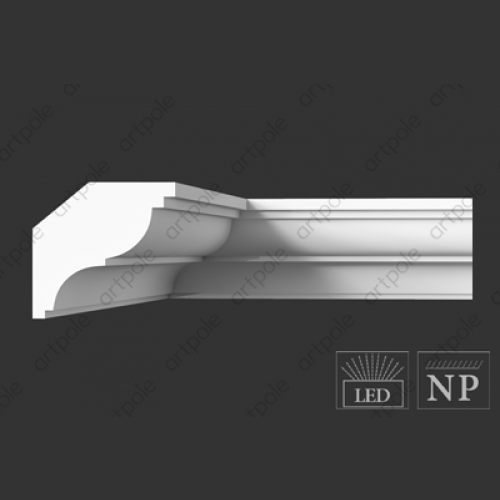 Карниз гладкий SKT43 от Artpole