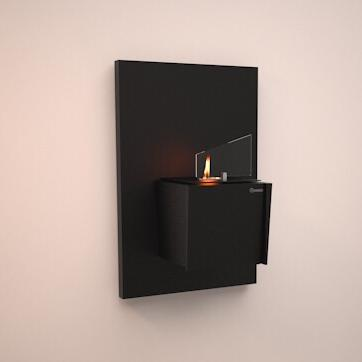 Биокамин Kvadro Mini Wall (Black) от Artpole