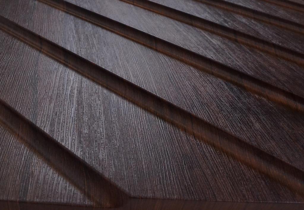 Новая линейка от ТМ Артполе - 3D панели 600х600 в покрытии Platinum