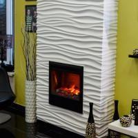 Гипсовый 3D камин-портал Silk Artpole от Artpole