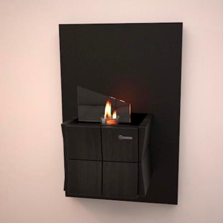 Биокамин Cube Wall от Artpole