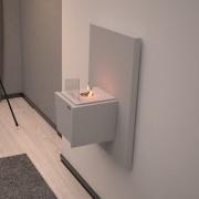 Биокамин Kvadro Mini Wall (White) от Artpole