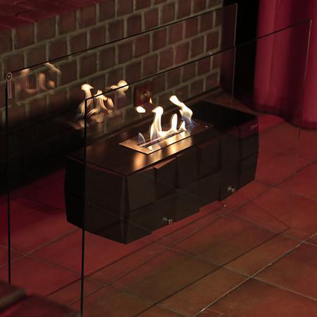 Биокамин Kvadro Glass от Artpole