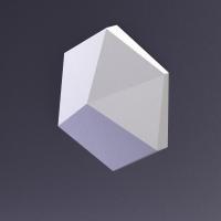 CUBE-Ex1 материал глянец от Artpole