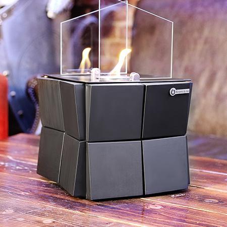Биокамин Kvadro Cube от Artpole