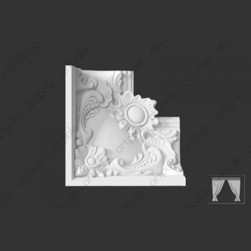 Карниз орнаментальный SK76U от Artpole