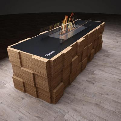 Биокамин Tetris Floor Vinil от Artpole