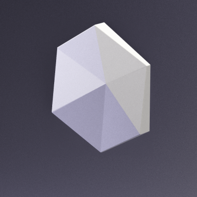 CUBE-Ex2 материал глянец от Artpole