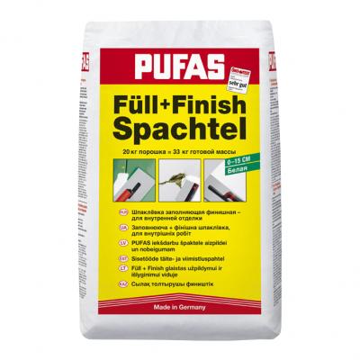 Шпаклевка гипсовая заполняющая PUFAS 20кг от Artpole