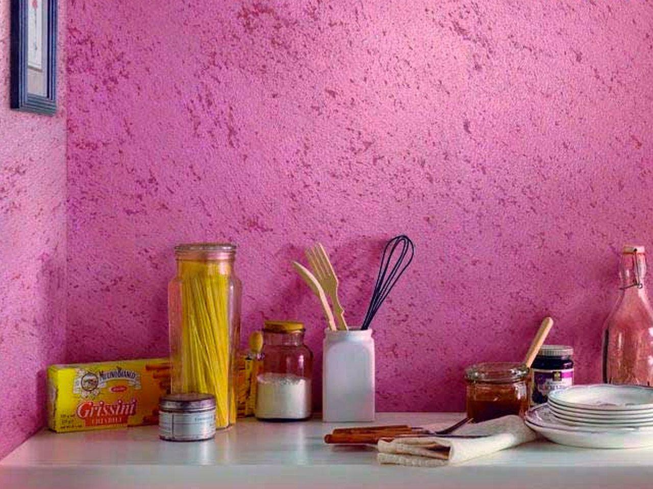Виды декоративной краски