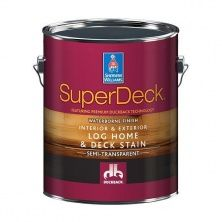 Пропитка для защиты деревянных фасадов SuperDeck Log Home&Deck Stain