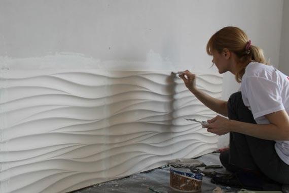 Ставим стеновые 3D панели - все, что нужно знать