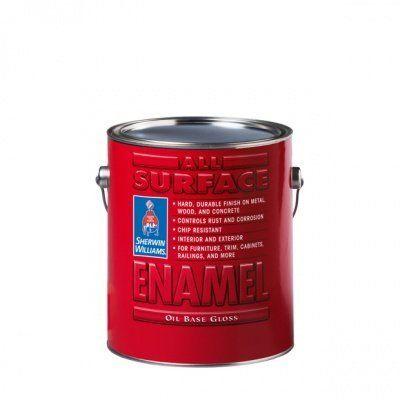 Универсальная эмаль для металла и дерева All Surface Enamel Satin Oil Sherwin-Williams All Surface Enamel Satin Oil