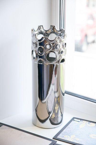 Зеркальная ваза
