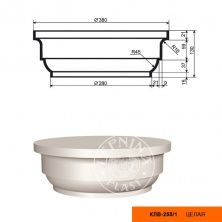 Колонна (капитель) КЛВ-255/1 FULL