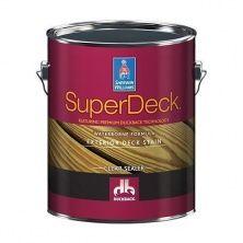 Пропитка для защиты деревянных фасадов Super Deck Exterior Waterborne Clear Sealer