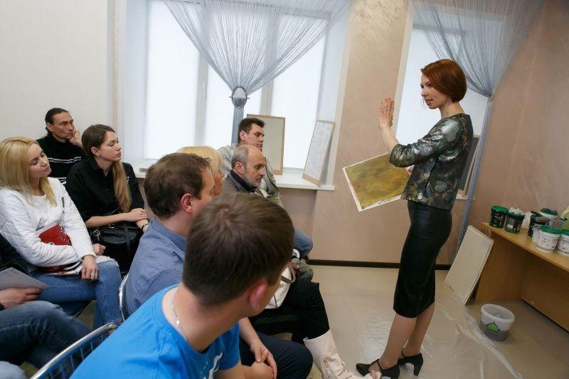 Презентация декоративных материалов Oikos