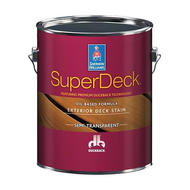 Масло-пропитка для дерева для внутренних работ Super Deck Oil-based Semi-Transp. stain Sherwin-Williams Super Deck Oil-based Semi-Transp. stain