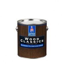 Полуматовый водный лак для дерева Wood Classic Waterborne Polyuretane Varnish Satin