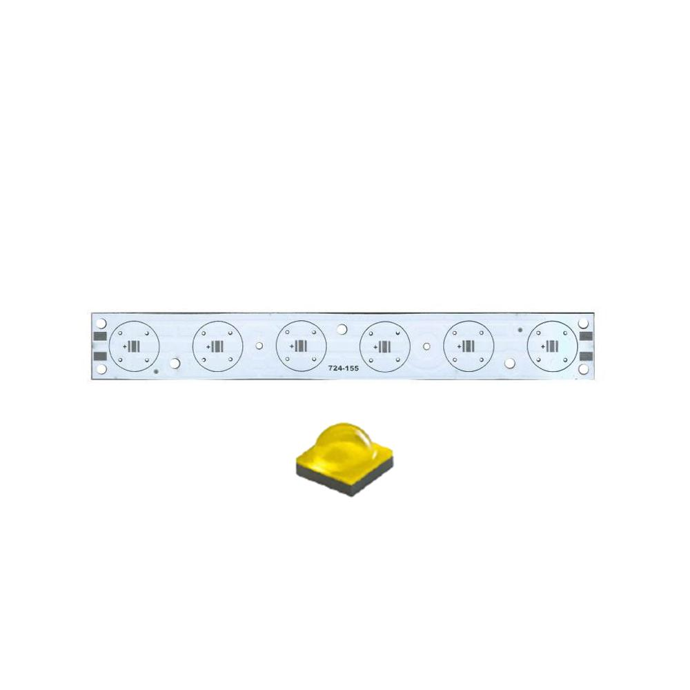 Плата 150x20-6XP CREE (6x LED, 724-155)
