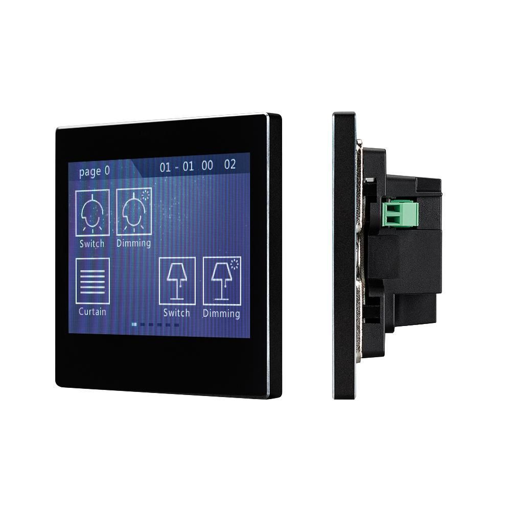Панель Sens SR-KN3521-IN Black (KNX, MULTI)