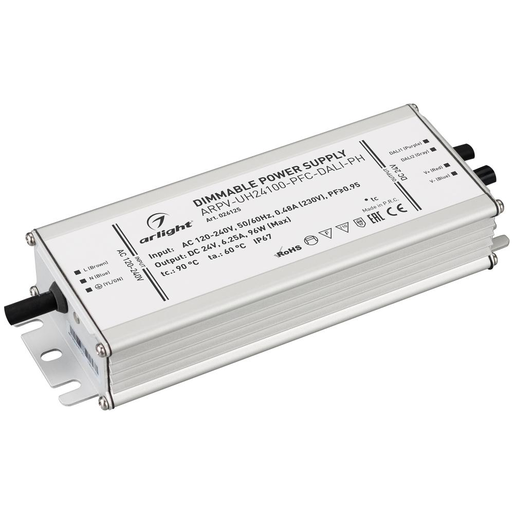 Блок питания ARPV-UH24100-PFC-DALI-PH (24V, 4.0A, 96W)